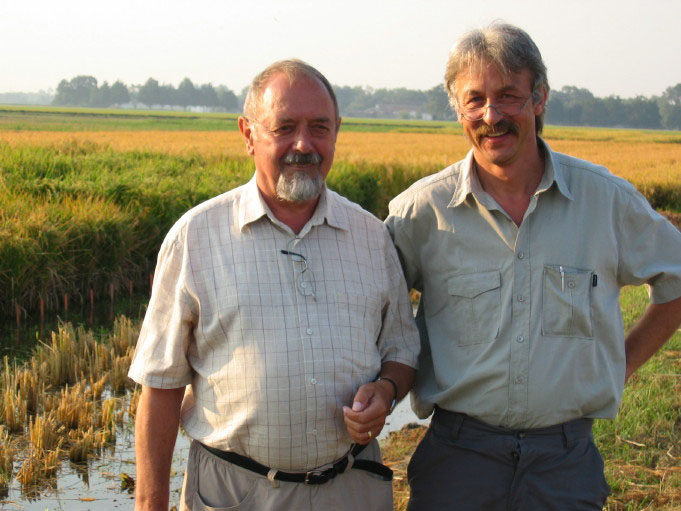 Ingo Potrykus and Peter Beyer
