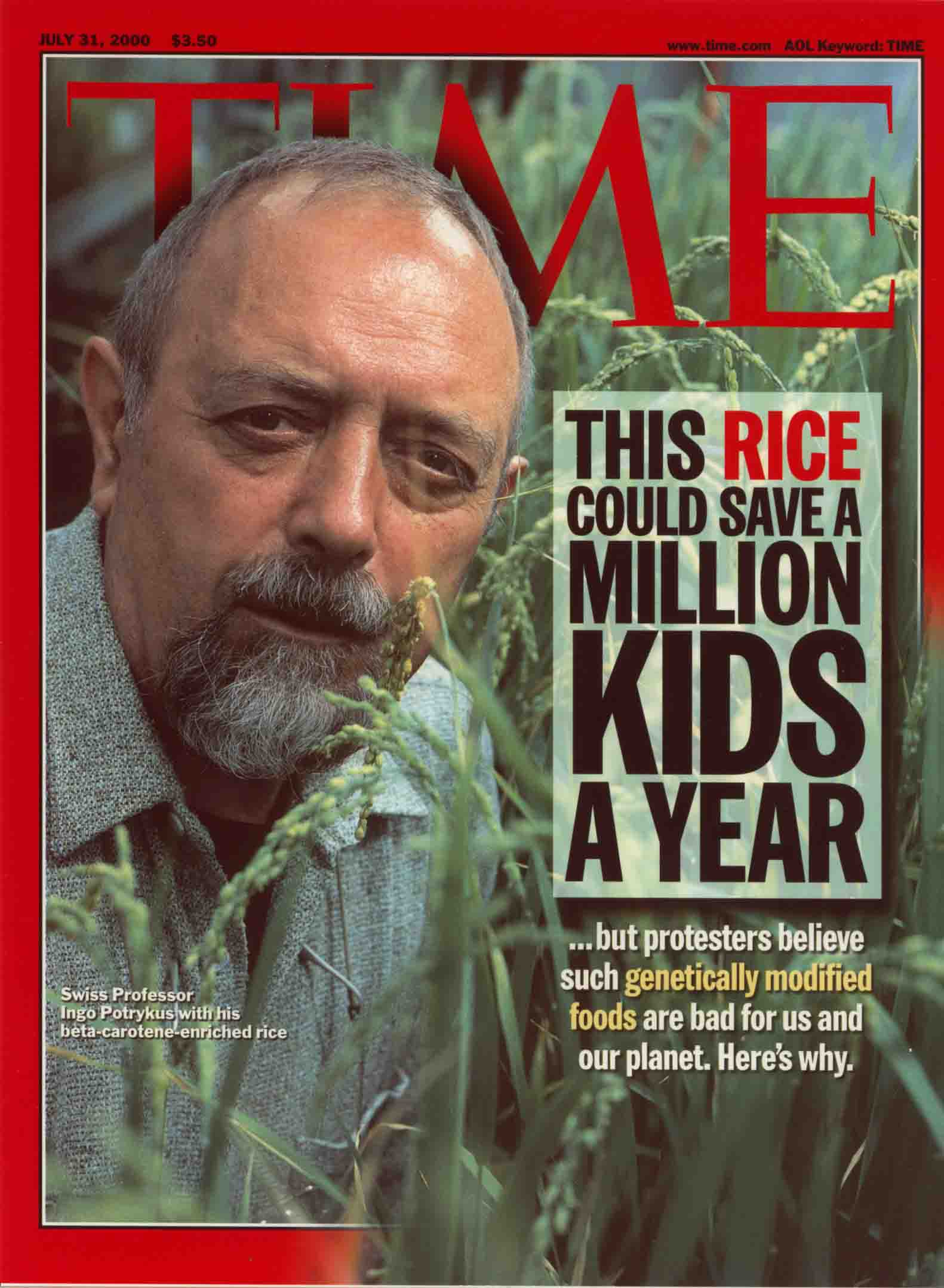 Image result for time magazine golden rice cover